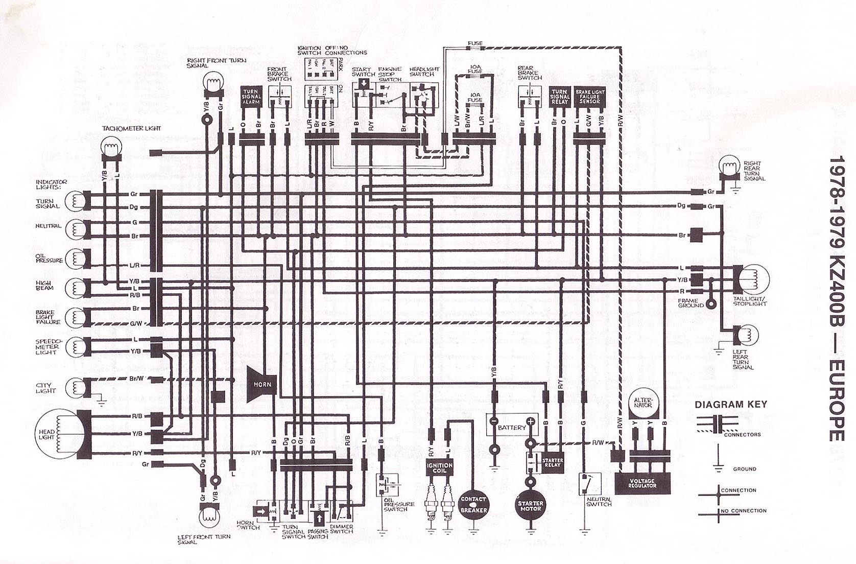 Kawasaki Kz400 B2 Wiring Diagram Page 2 And 1977 Index Of Techh Tips Bilder Diagrams Rh Com Kz200 1979 Ford F 250