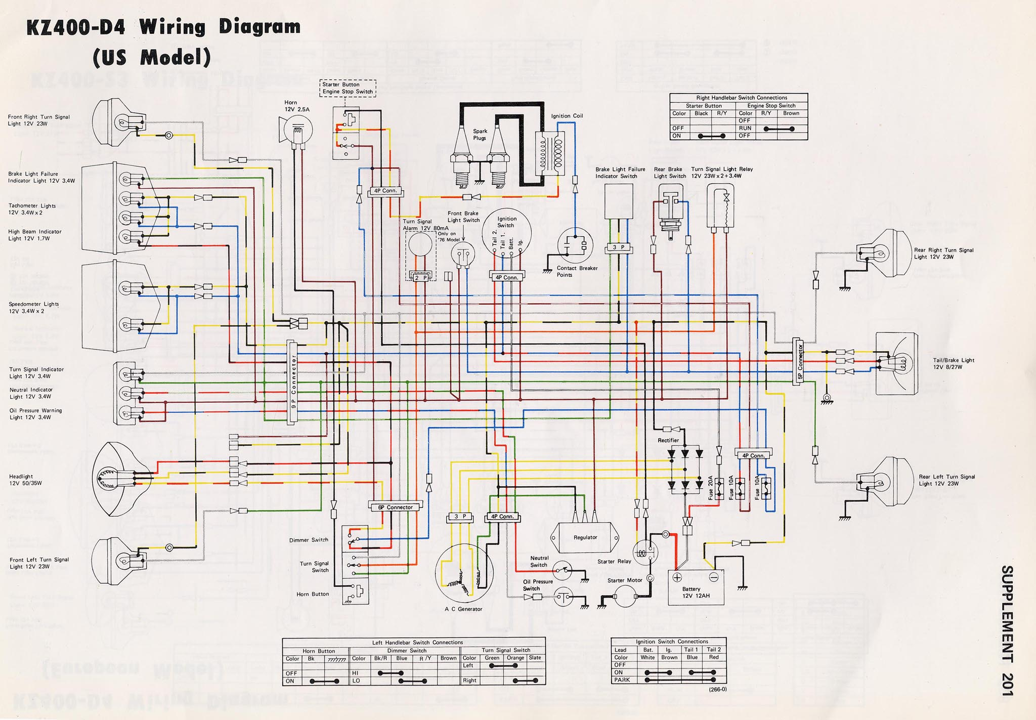 For A Kawasaki 440 Ltd Wiring Diagram - Enthusiast Wiring Diagrams A Wiring Diagram Kawasaki on