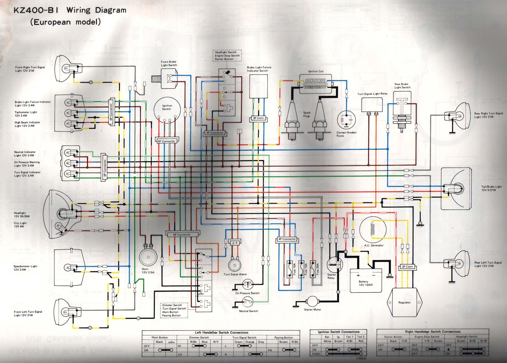 76 kz400 wiring diagram wiring diagram u2022 rh hammertimewebsite co